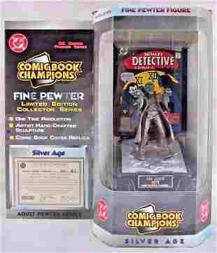 D.C. Comics Silver Age The JOKER Pewter Figurine