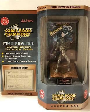 D.C. Comics LTD. Edition MR. FREEZE Pewter Figurine