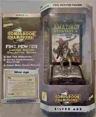 Marvel Comics Silver Age 1962 SPIDERMAN Pewter Figurine