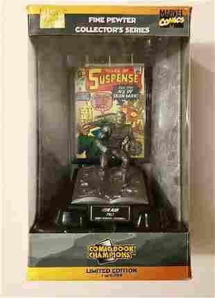 Marvel Comics Silver Age 1963 IRON MAN Pewter Figurine