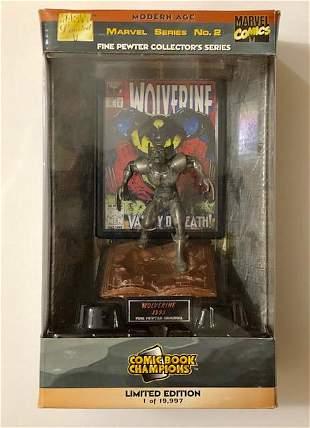 Marvel Comics Limited Edition WOLVERINE Pewter Figurine