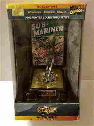 Marvel Comics LTD. Edition SUB-MARINER Pewter Figurine