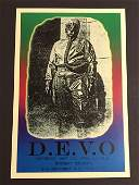 DEVO May 27 th  1978 Concert Poster 12 x 18