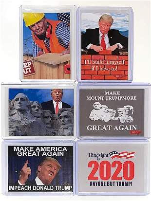 DONALD TRUMP & JOE BIDEN Election Campaign Parody Cards