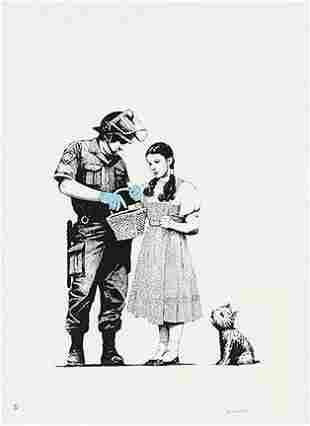 Banksy Wizard of Oz Famous Graffiti Street Art Print