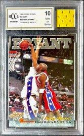 25k KOBE BRYANT Game Used Jersey Rookie Basketball Card