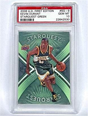 PSA 1 st Edition KEVIN DURANT Rookie Basketball Card
