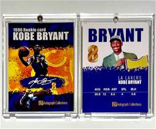 1996 KOBE BRYANT Autograph Collections Rookie Card