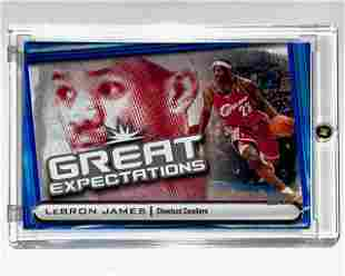 2004 Lebron James Topps Great Expectations Rookie Card