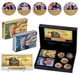 DONALD TRUMP Keep America Great 2020 Campaign Coin Set