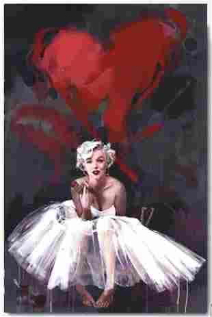 Beautiful MARILYN MONROE Quality Canvas Art Print 16/24