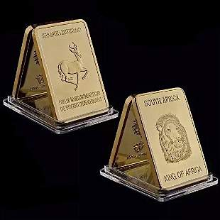 1oz 999 Fine Gold Clad South African Krugerrand