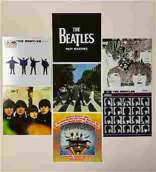 Extremely Rare The BEATLES Licensed Album Covers/A