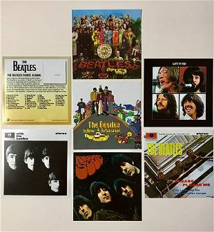 Extremely Rare The BEATLES Licensed Album Covers/B