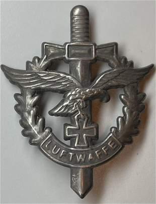 WW2 German Airforce Luftwaffe Metal Pin Back Badge