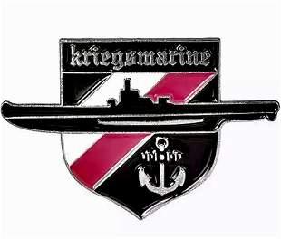 WW2 German Luftwaffe Enameled Kriegsmarine Lapel Pin