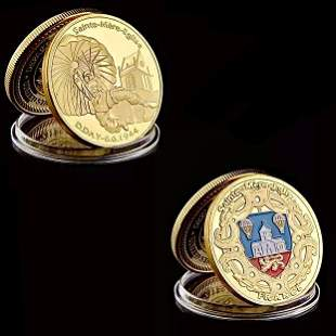 WW2 French Military Paratrooper 1oz Gold Clad Coin