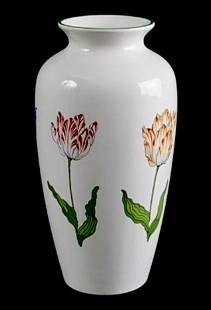 TIFFANY & Co Porcelain Tulips Vase made in England