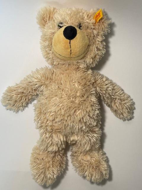 Original STEIFF German Teddy Bear with Ear Tag N Label