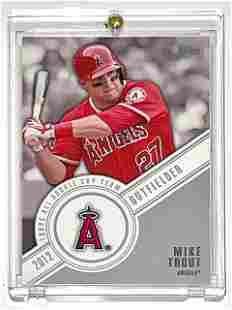 TOPPS 2012 MIKE TROUT All Rookie Cup Team Baseball Card