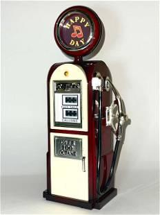Unique Gas Station Gasoline Pump Music Box