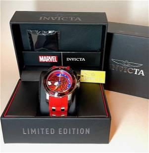 LTD Edition Marvel SPIDERMAN Mens INVICTA Watch $795