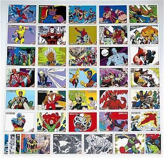 40 Rare Marvel Bronze Age Comic Book Cover Art Cards/A