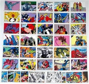40 Rare Marvel Bronze Age Comic Book Cover Art Cards/B