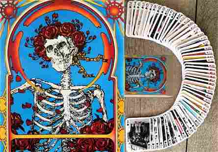 Awesome The GRATEFUL DEAD Deck of Playing Cards