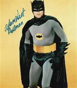 BATMAN Adam West 8 x 10 Autographed Photo
