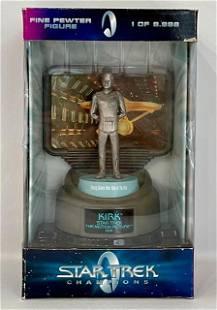 LTD Edition 1979 Star Trek CAPTAIN KIRK Pewter Figure