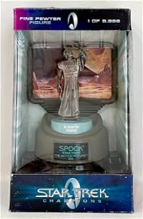 Limited Edition 1979 Star Trek SPOCK Pewter Figure