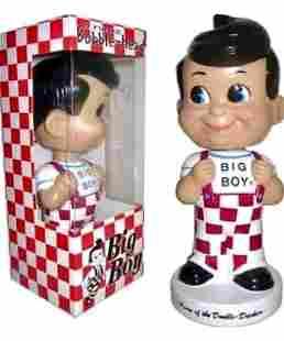 Vintage BIG BOY Funko Wacky Wobbler in Box