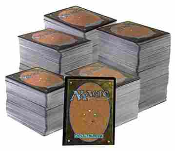 Over 600 Magic the Gathering Crds Collection -READ