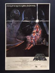 STAR WARS Collectible Movie Poster 12 X 18