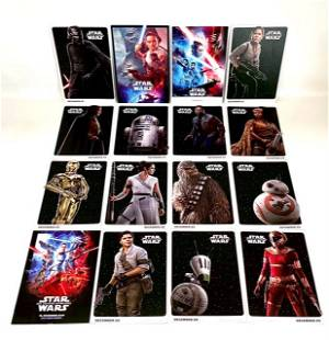 Lot of 16 STAR WARS Movie Poster Promotional Postcards
