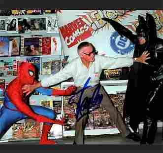 STAN LEE Marvel Comics 8 x 10 Autographed Photo