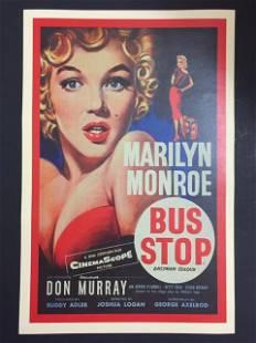 MARILYN MONROE 1956 Bus Stop Movie Poster