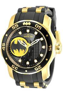 Limited Edition BATMAN DC Comics INVICTA Mens Watch