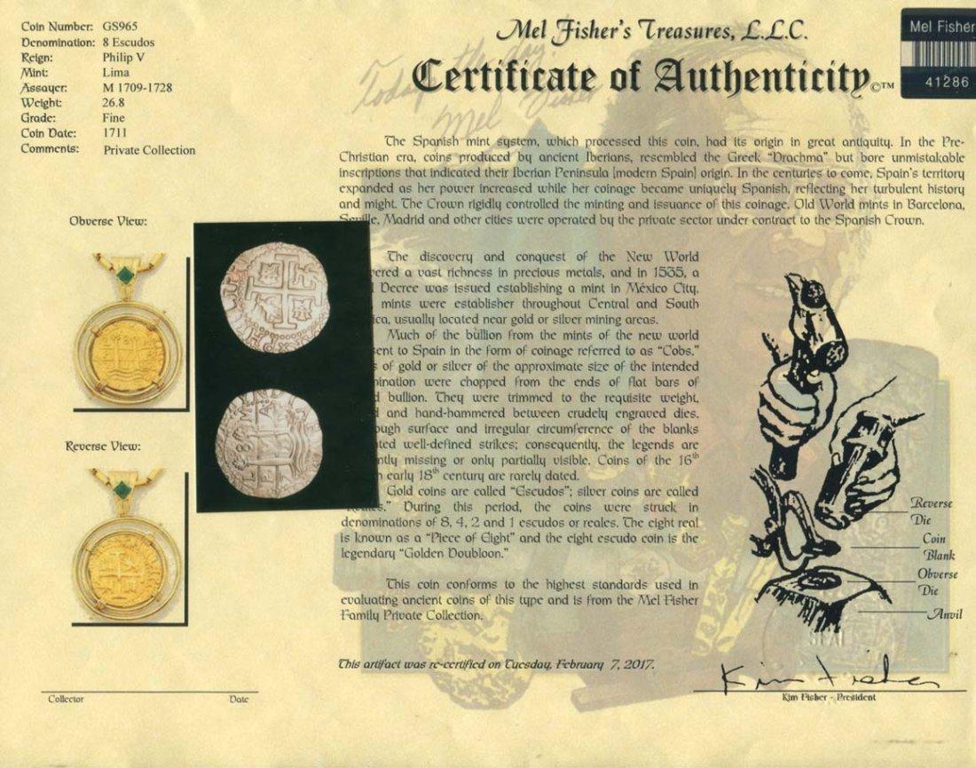Gold Coin Pendant - 4