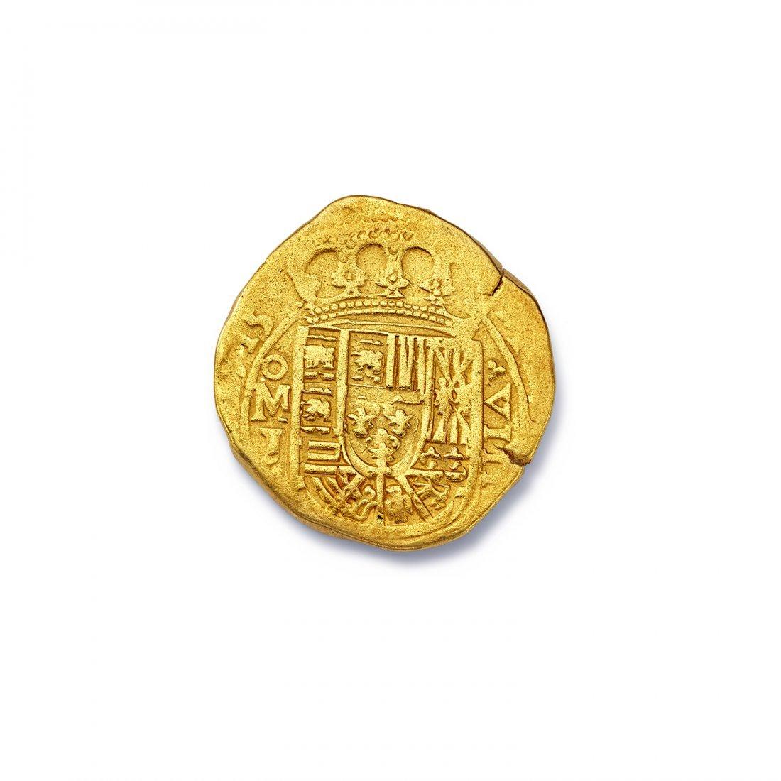 Spanish Eight Escudo Coin