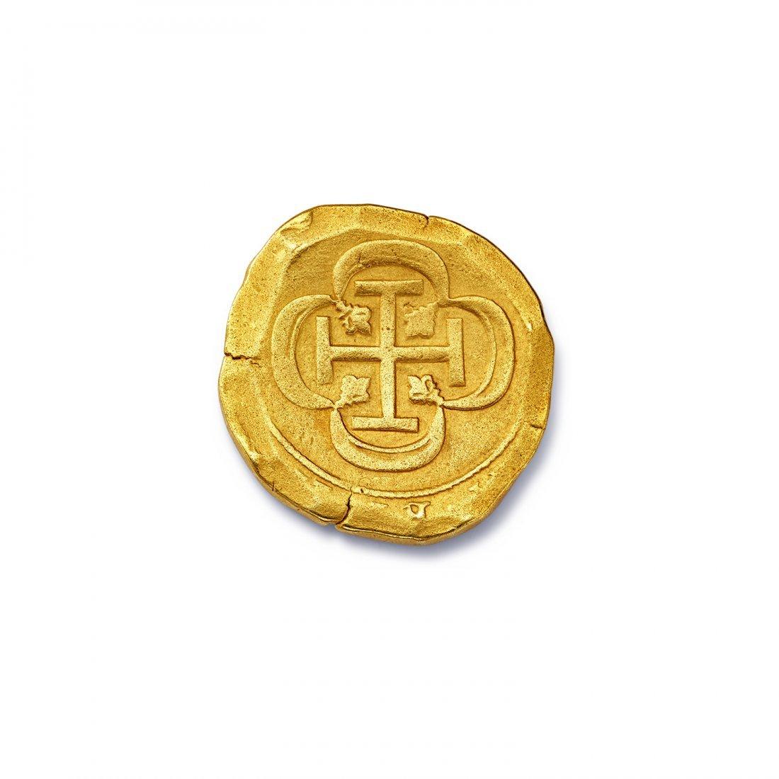 Spanish Eight Escudo Coin - 2