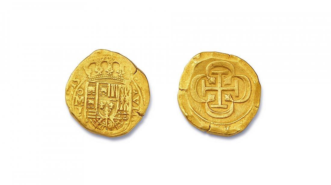 Spanish Eight Escudo Coin - 3