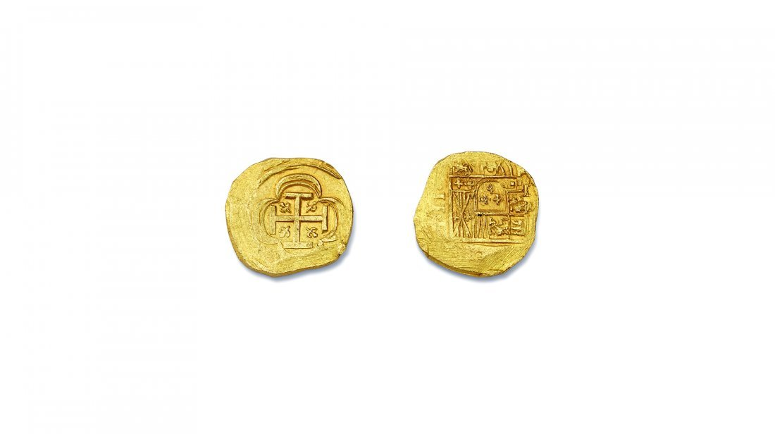 1715 Fleet Spanish Doubloon - 3