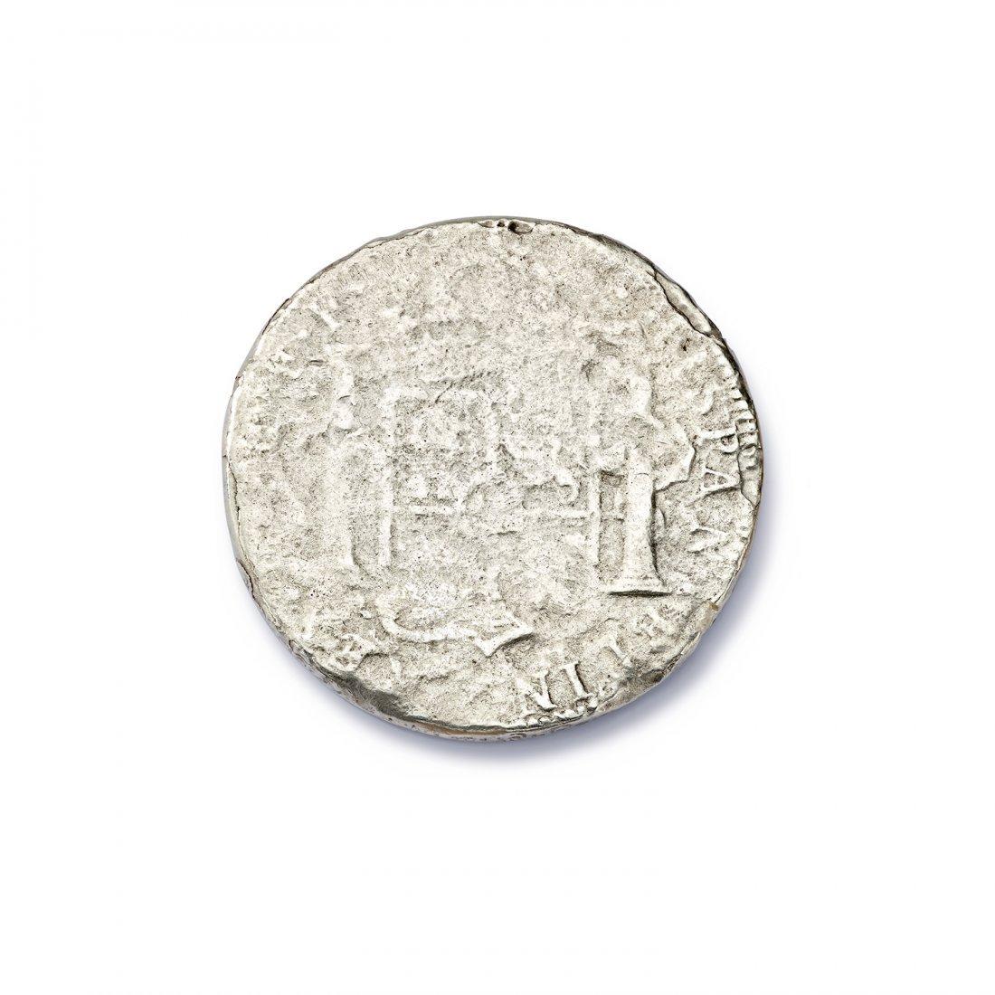 El Cazador Silver Reales Coin - 2