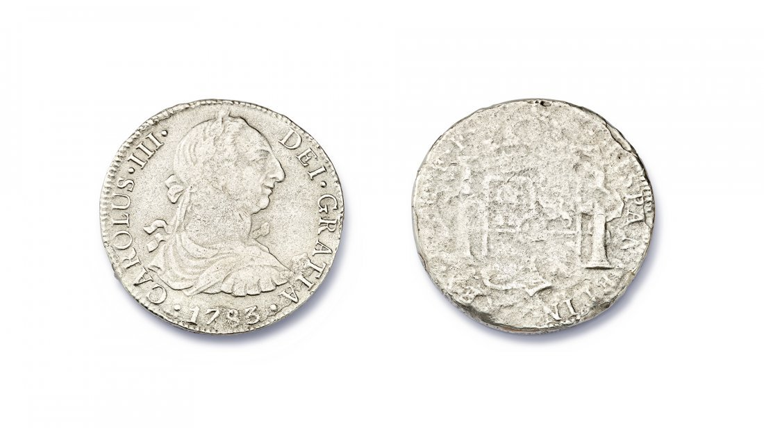El Cazador Silver Reales Coin - 3