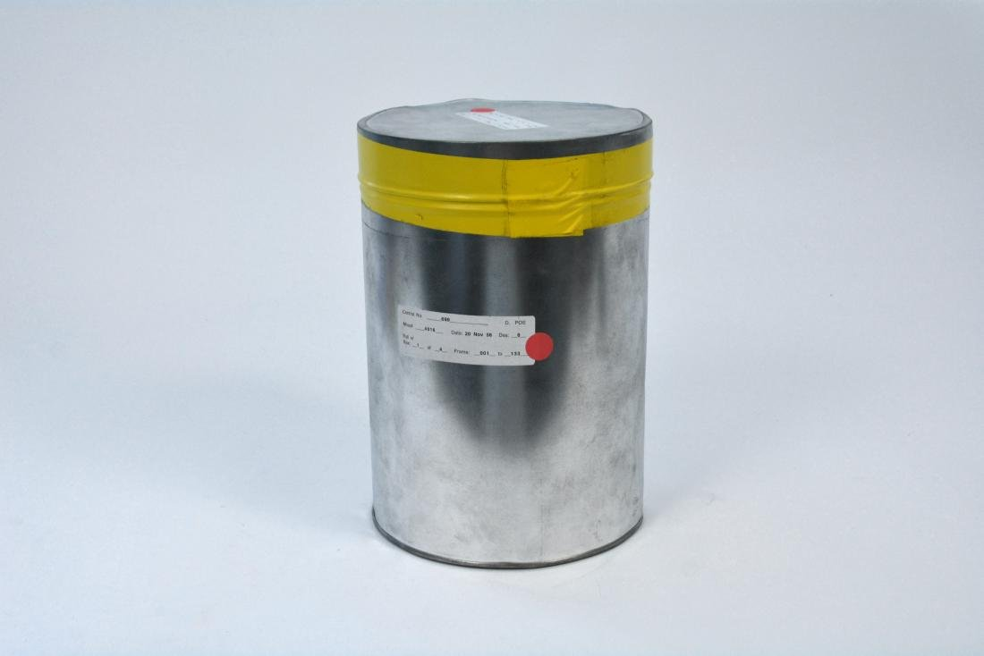 Film Canister with Francis G Powers' U-2 Footage c.1956