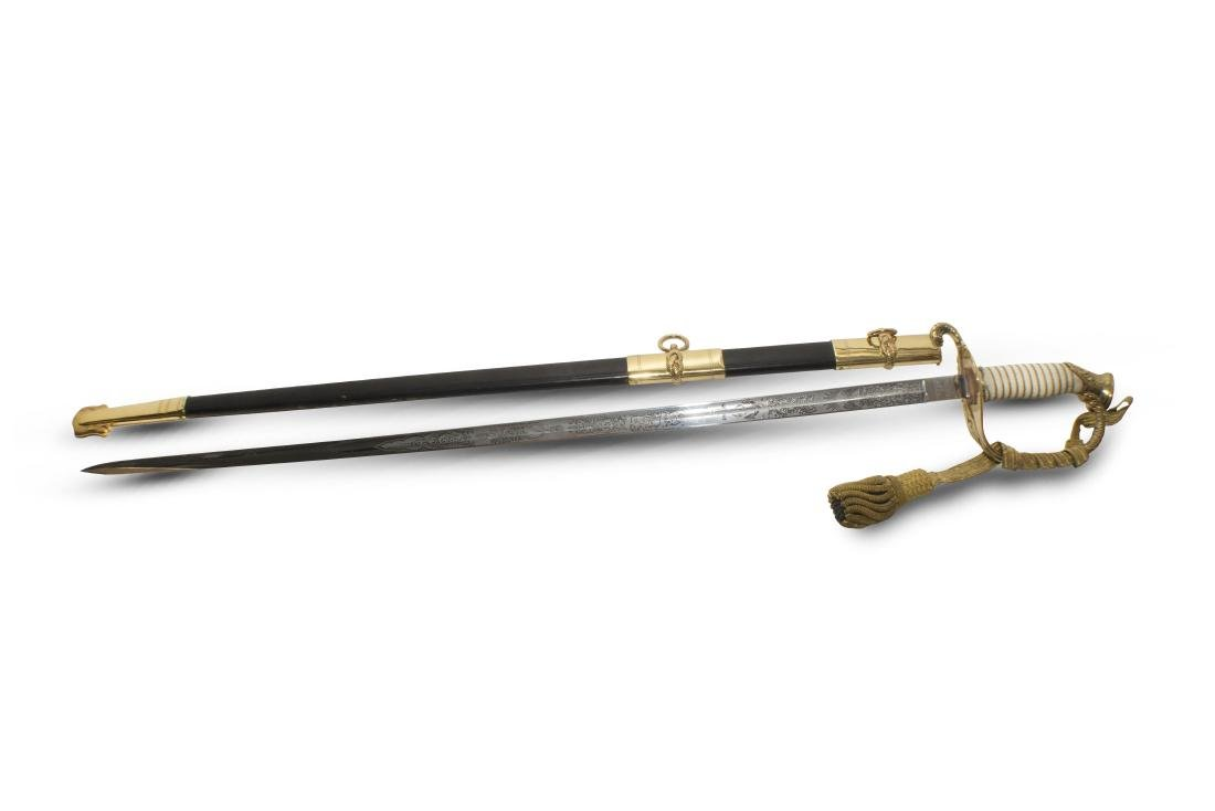 Naval Officer Henry Hirschy's Sword