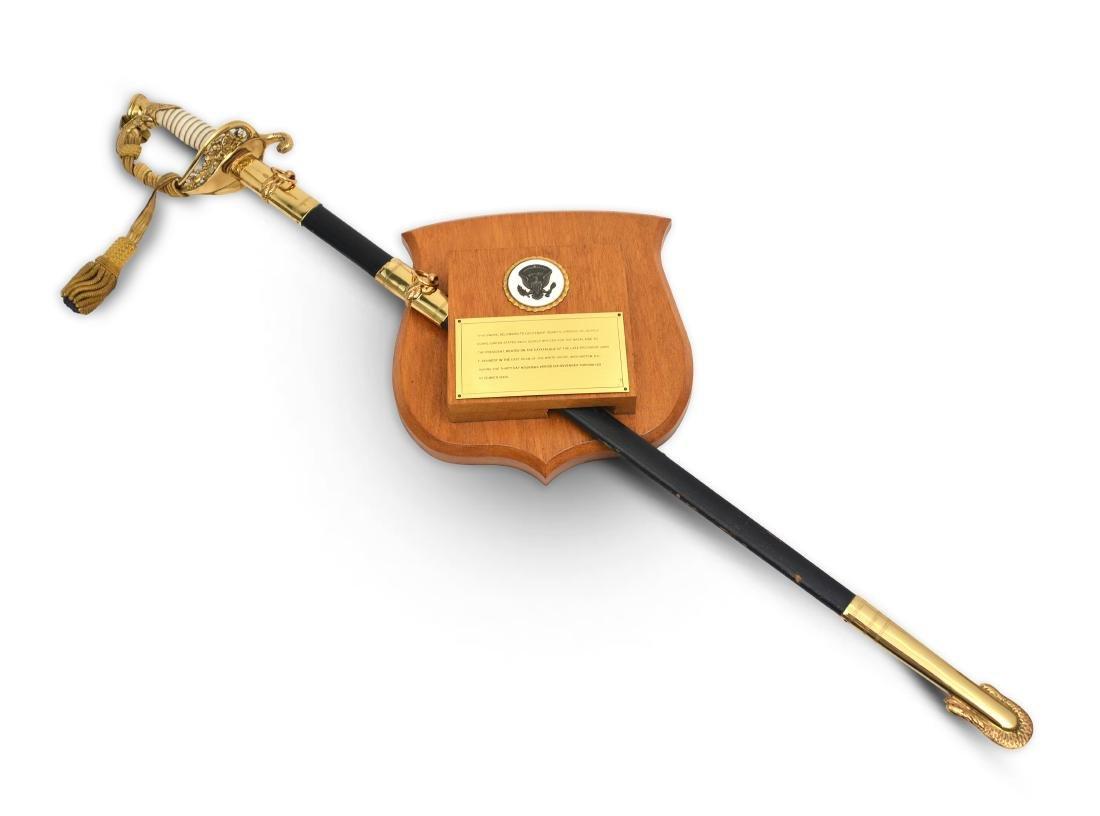 Naval Officer Henry Hirschy's Sword - 2