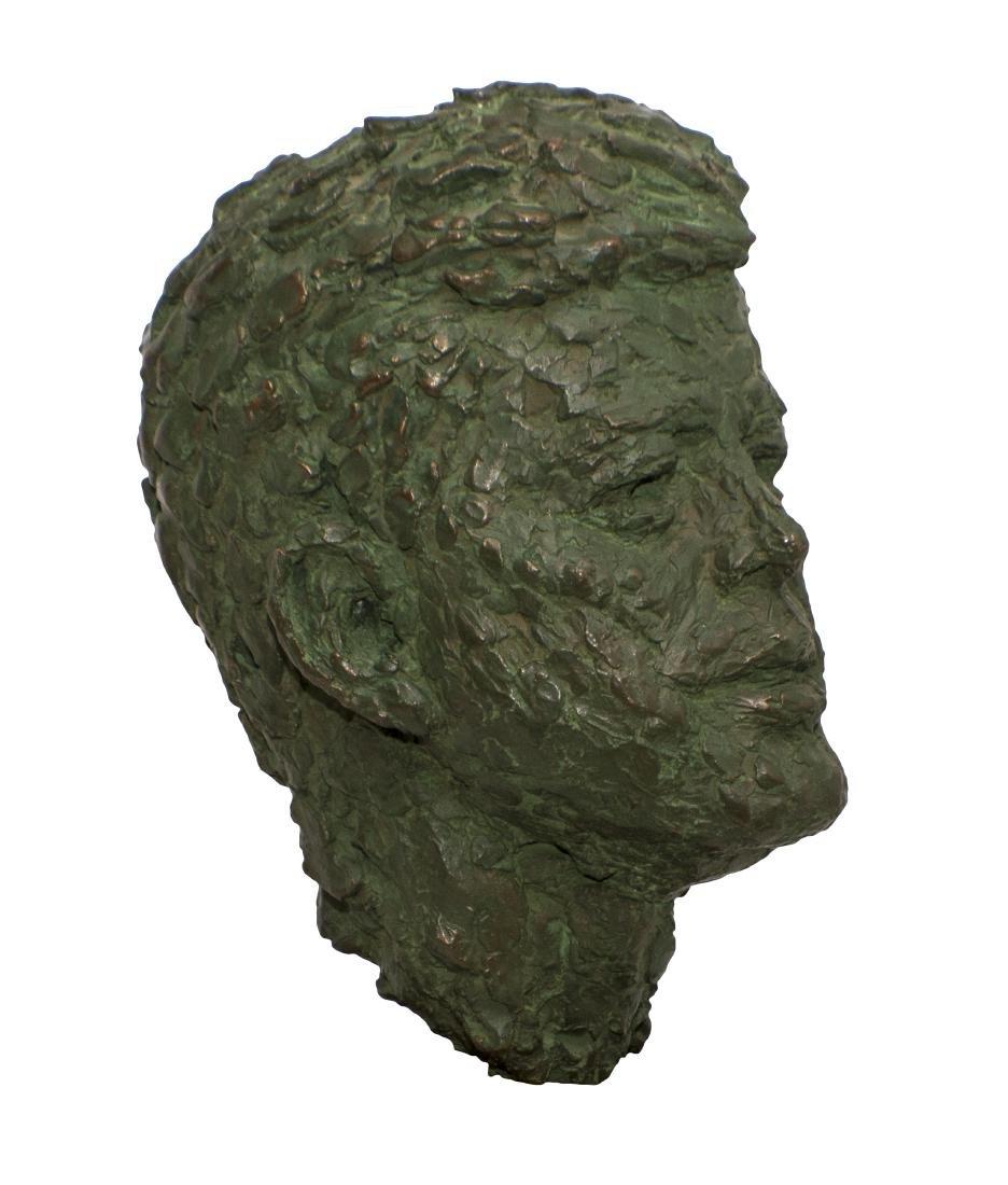 Robert Berks Heroic Bronze Bust of JFK - 2